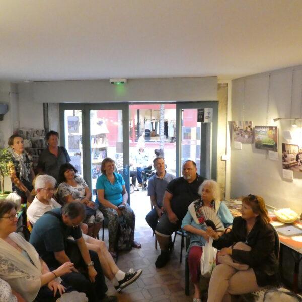 Présentation au Café Culture