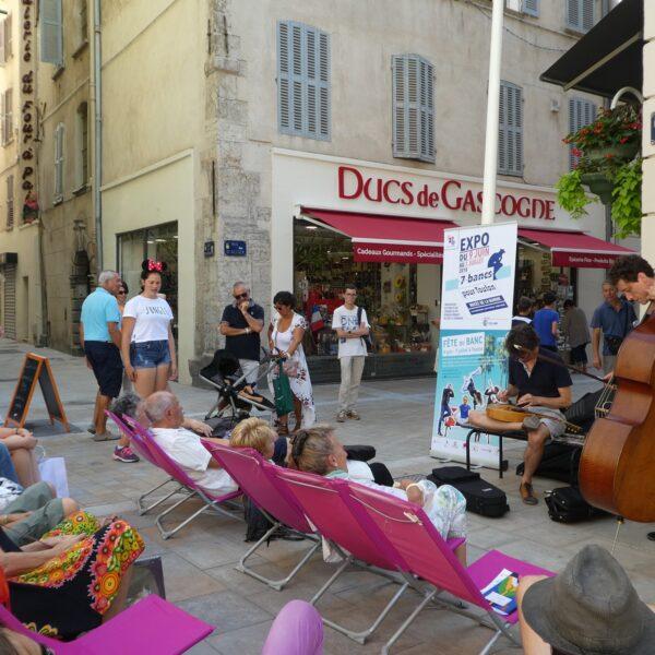 Concert rue d'Alger
