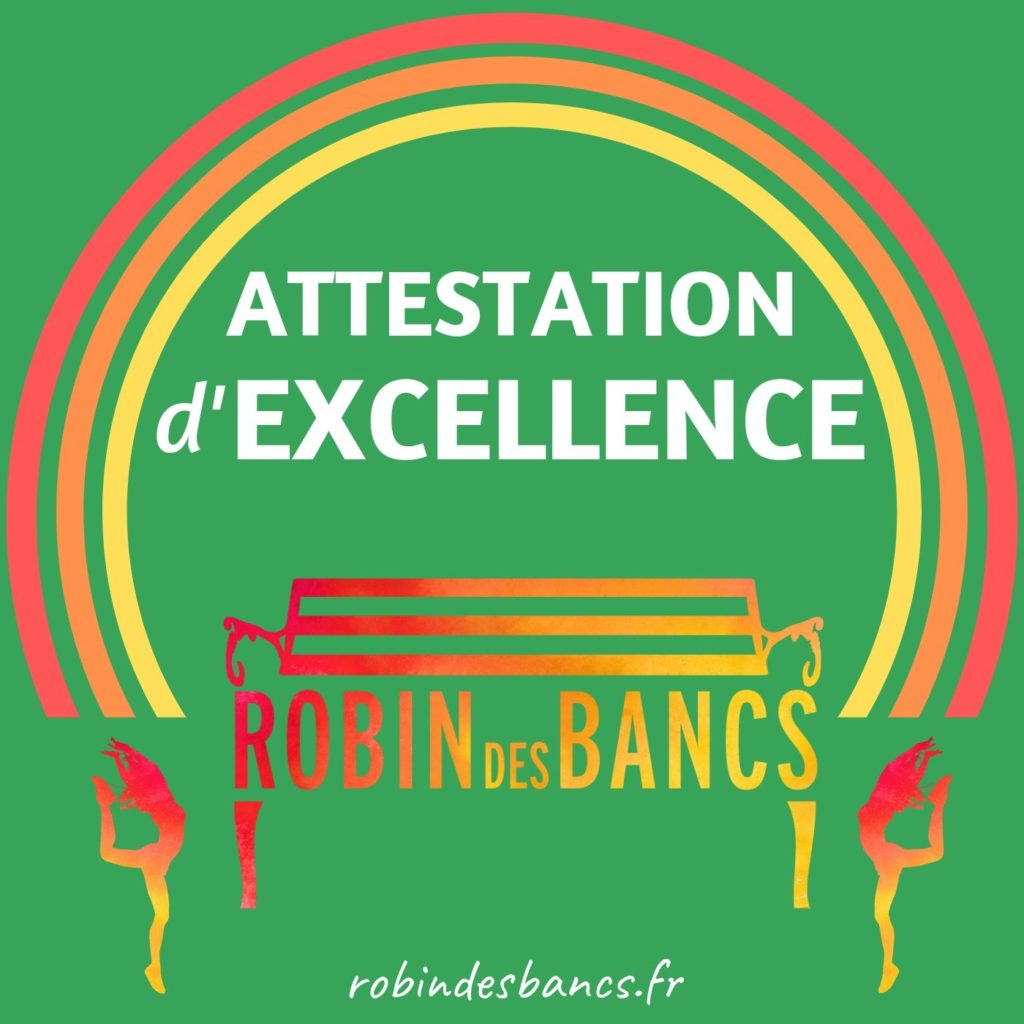 Attestation d'excellence